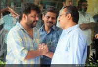 Film stars at Director Rajesh Pillai Funeral Photos (36)