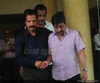 Film stars at Director Rajesh Pillai Funeral Photos (40)