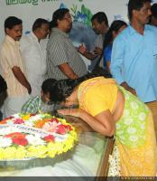 Film stars at Director Rajesh Pillai Funeral Photos (47)