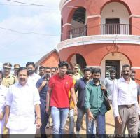 Dulquar Salman Visits Poojappura Central Jail Photos