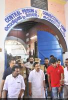 Dulquar Salman at Poojappura Central Jail Photos (11)