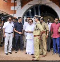 Dulquar Salman at Poojappura Central Jail Photos (13)