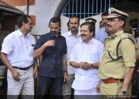 Dulquar Salman at Poojappura Central Jail Photos (14)