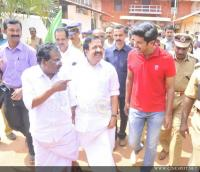 Dulquar Salman at Poojappura Central Jail Photos (19)