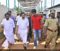 Dulquar Salman at Poojappura Central Jail Photos (21)