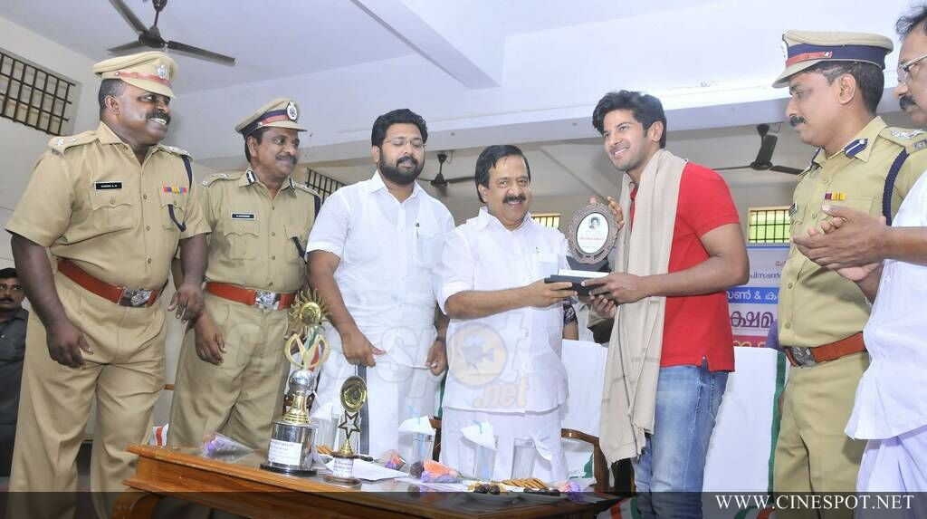 Dulquar Salman at Poojappura Central Jail Photos (75)