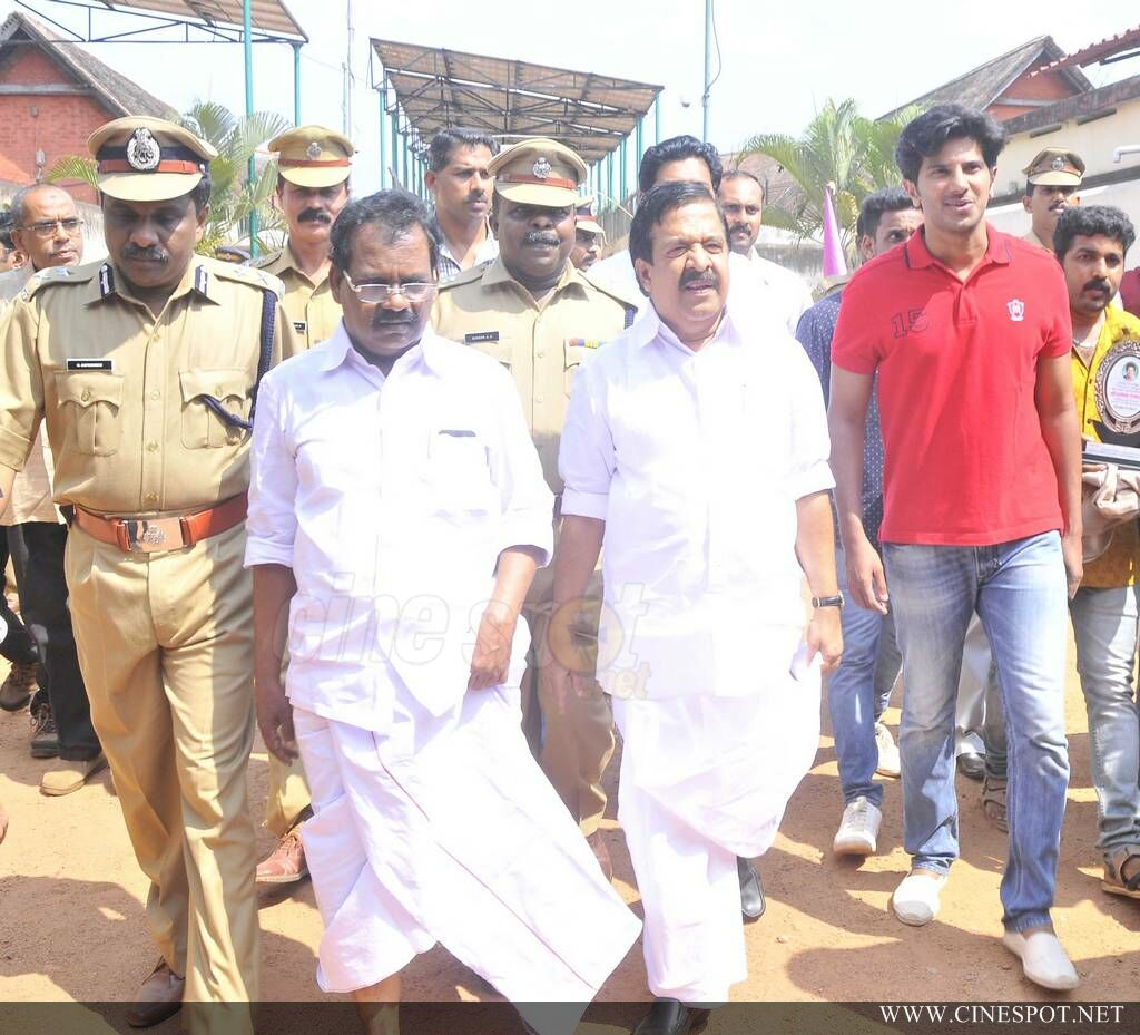 Dulquar Salman at Poojappura Central Jail Photos (8)