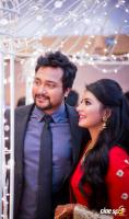 Bobby Simha and Reshmi Menon Wedding Reception Photos