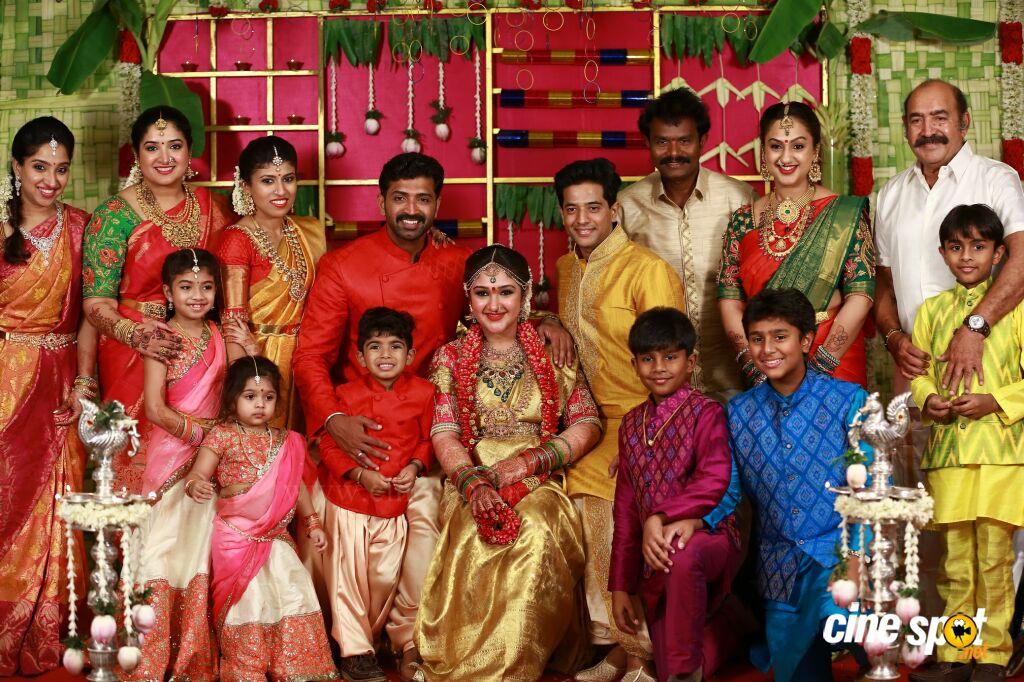 Sridevi vijayakumar seemantham function 38 for Baby shower function decoration