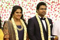 KS Ravikumar Daughter Maalica Marriage Reception Photos