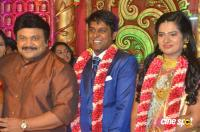 Producer Vinoth Kumar And Sindhu Marriage Reception Photos