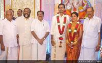 Murali daughter Karthika's Marriage photos