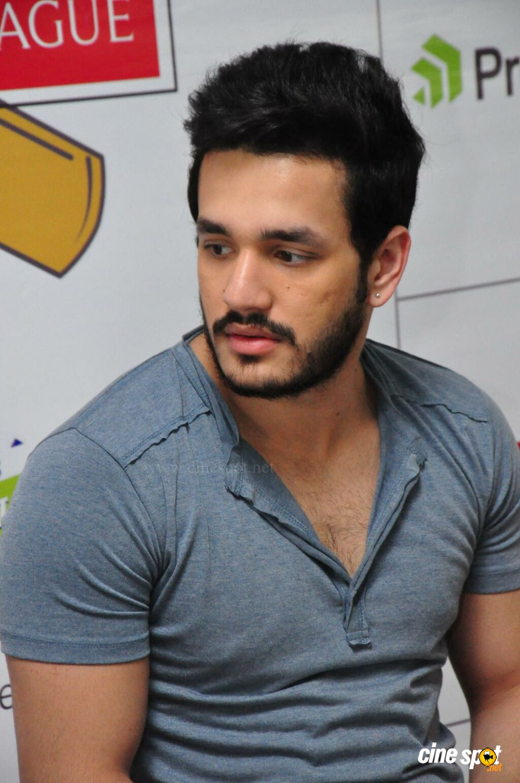 Akhil at Startup Cricket League Launch (3)