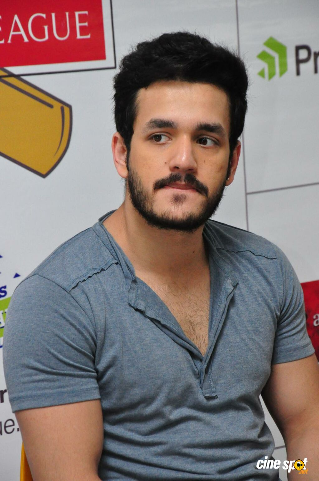 Akhil at Startup Cricket League Launch (7)