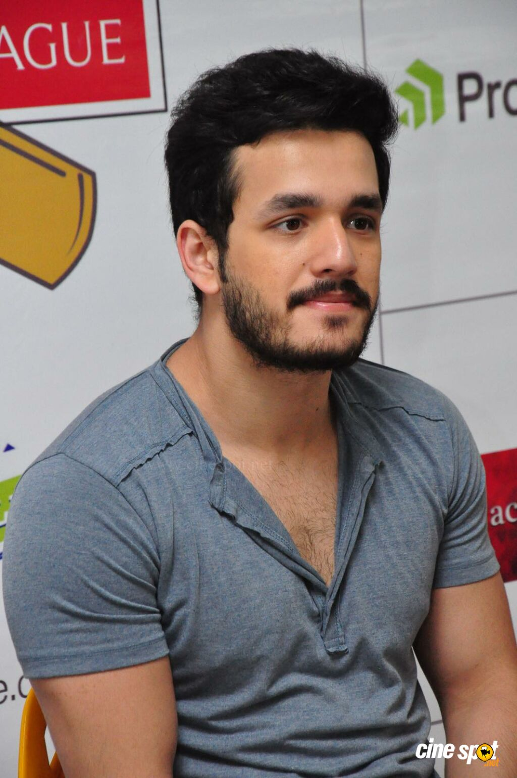 Akhil at Startup Cricket League Launch (8)