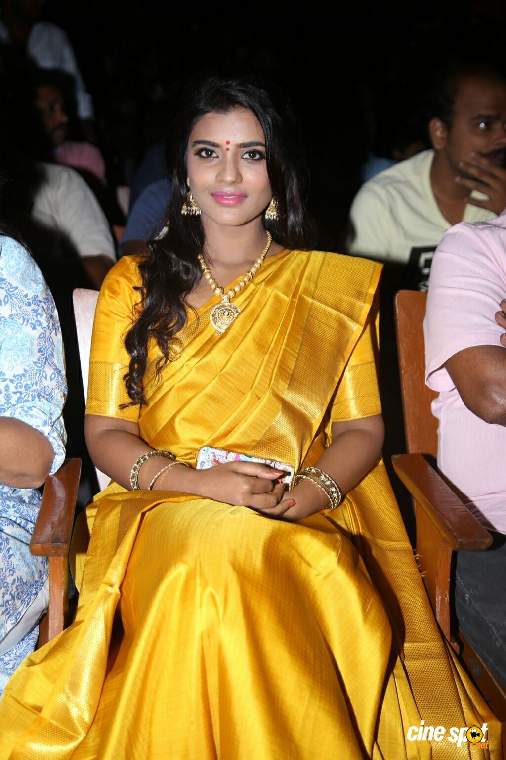 Aishwarya Rajesh at Dharma Durai Audio Launch (1)