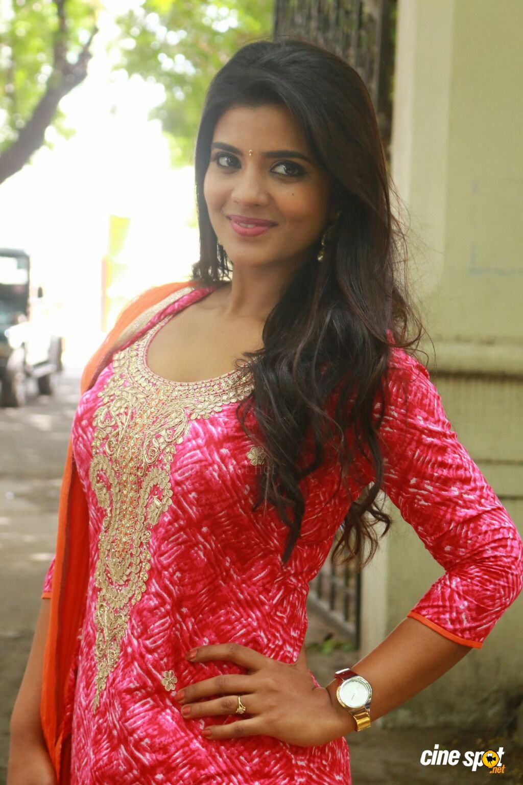 Aishwarya Rajesh at Dharma Durai Movie Press Meet (2)