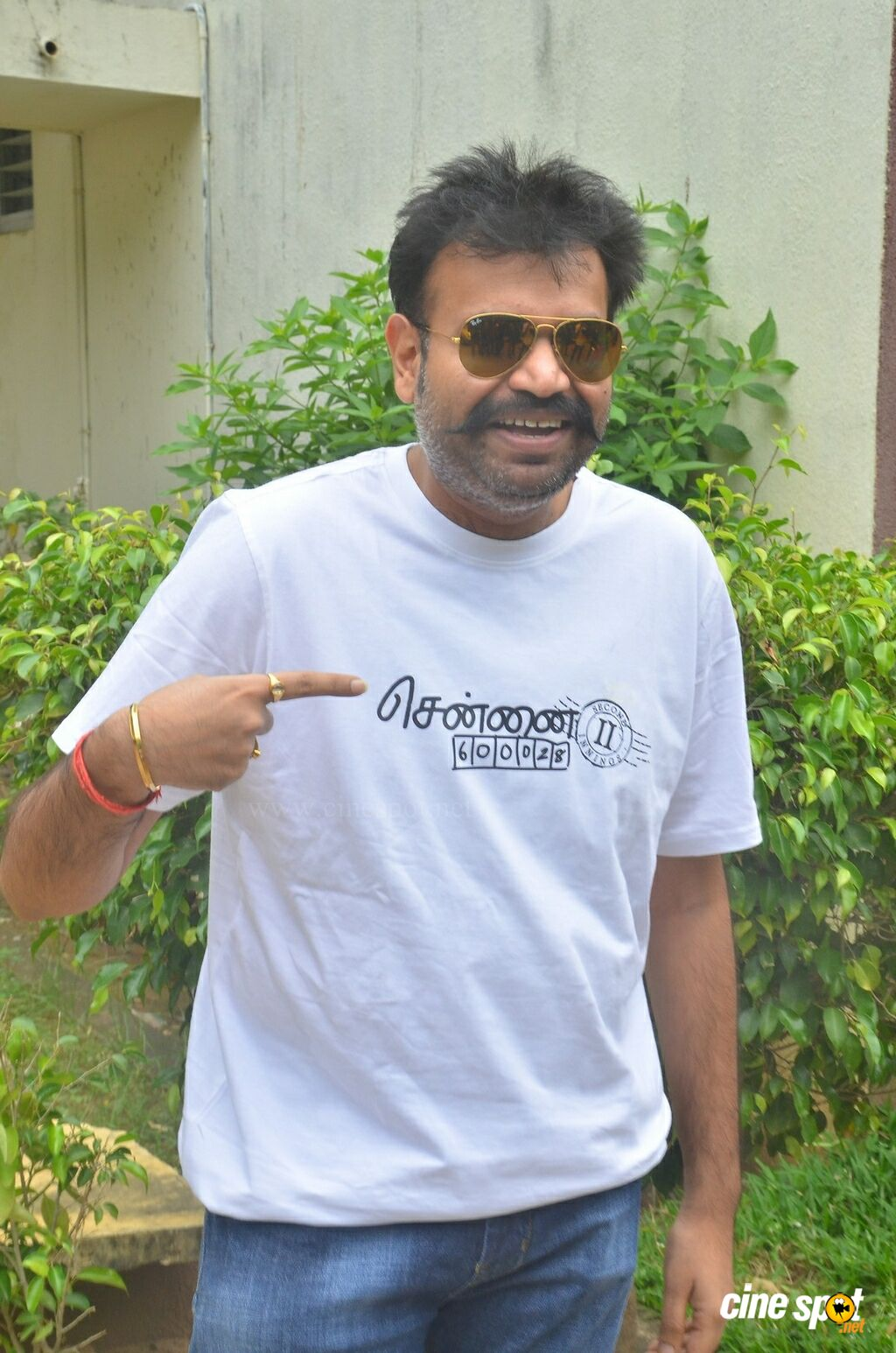 Premgi Amaren at Chennai 28 II Press Meet (3)