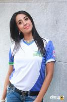 Sanjana at CBL Telugu Thunders Team Jersey Launch (2)