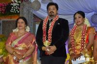 Jayachithra Son Amresh Marriage Reception Photos