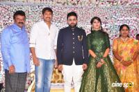 Talasani Srinivas Yadav Daughter Wedding Reception Photos
