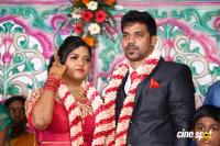 Actor Vasu Vikram Daughter Wedding Reception Photos