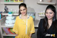 Genelia At India's 1st & Only Baby & Mother Wellness Centre Launch Photos