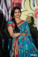 Meena Kumari at Jayammu Nishcayammu Raa Thanks Meet (2)