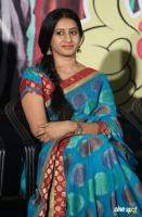 Meena Kumari at Jayammu Nishcayammu Raa Thanks Meet (3)