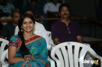 Meena Kumari at Jayammu Nishcayammu Raa Thanks Meet (7)
