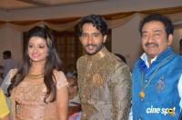 Actor Pandu Son Pintu Wedding Reception Photos