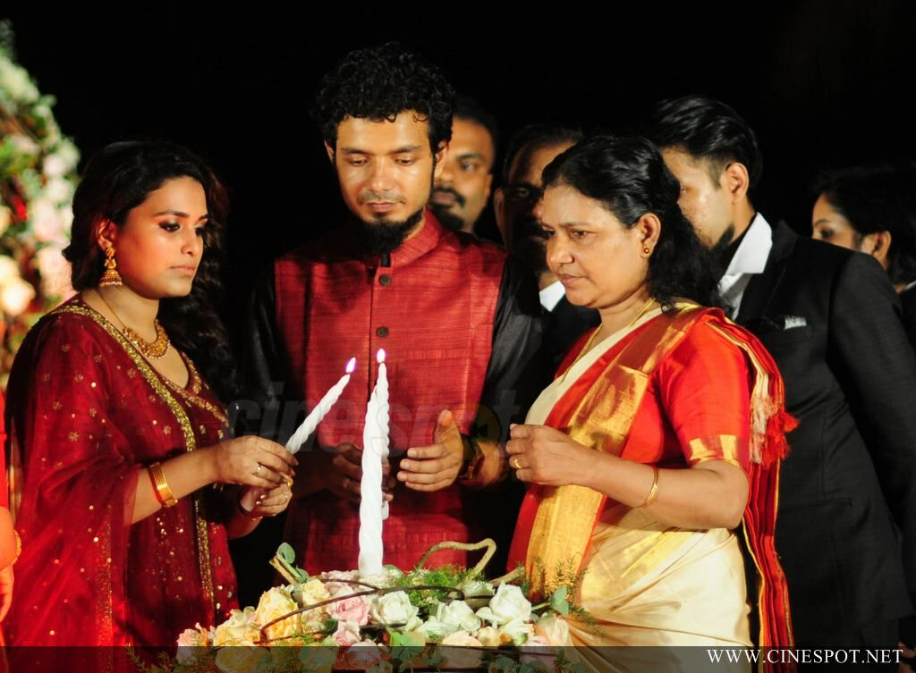 Sreenath Basi Wedding Reception Photos 1