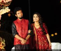 Sreenath Basi and Reethu wedding reception photos