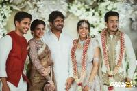 Nagarjuna's son Akhil Akkineni and Shriya Bhupal Engagement photos