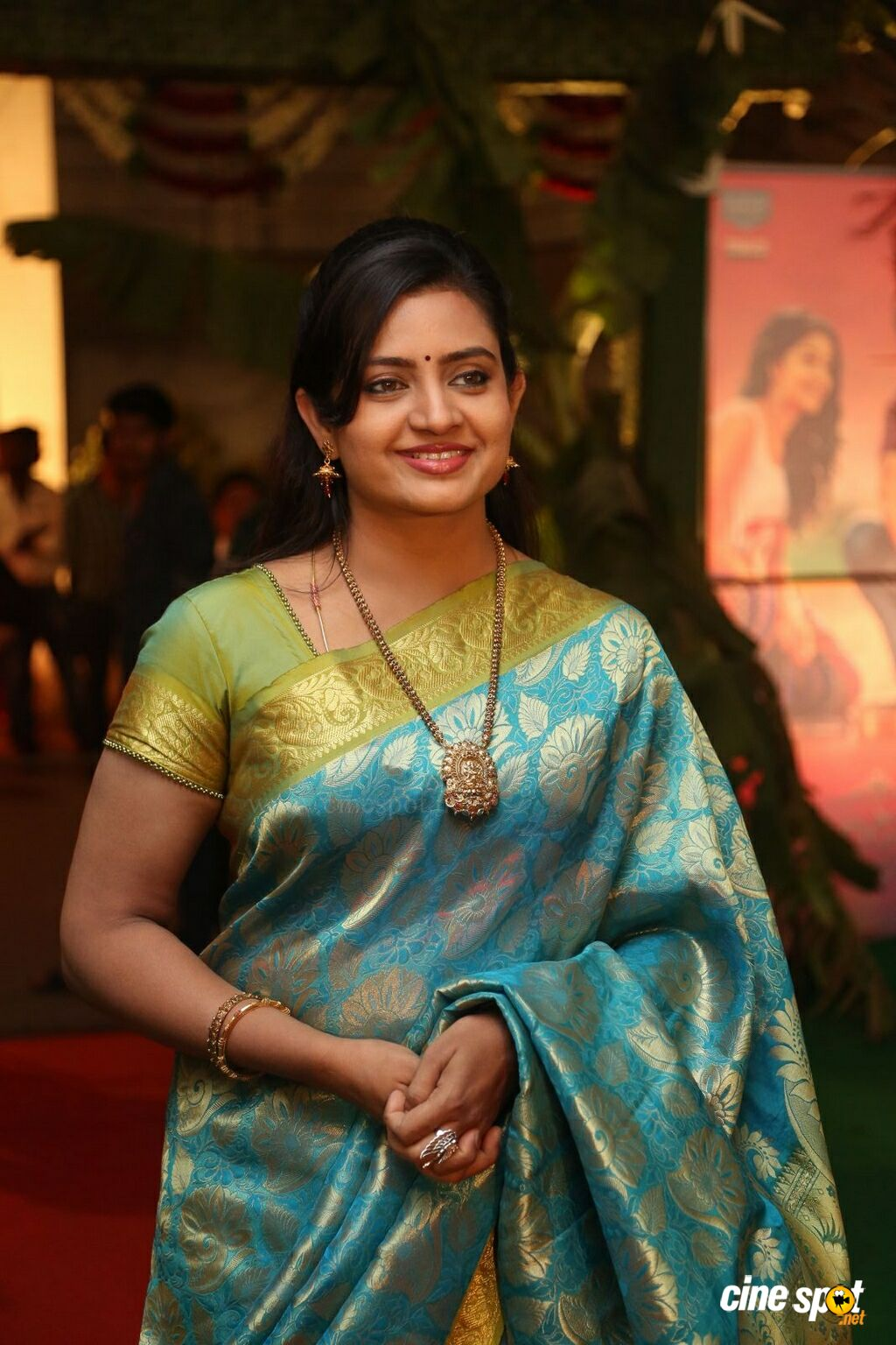 Indraja at Shatamanam Bhavathi Audio Launch (13)