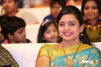 Indraja at Shatamanam Bhavathi Audio Launch (5)