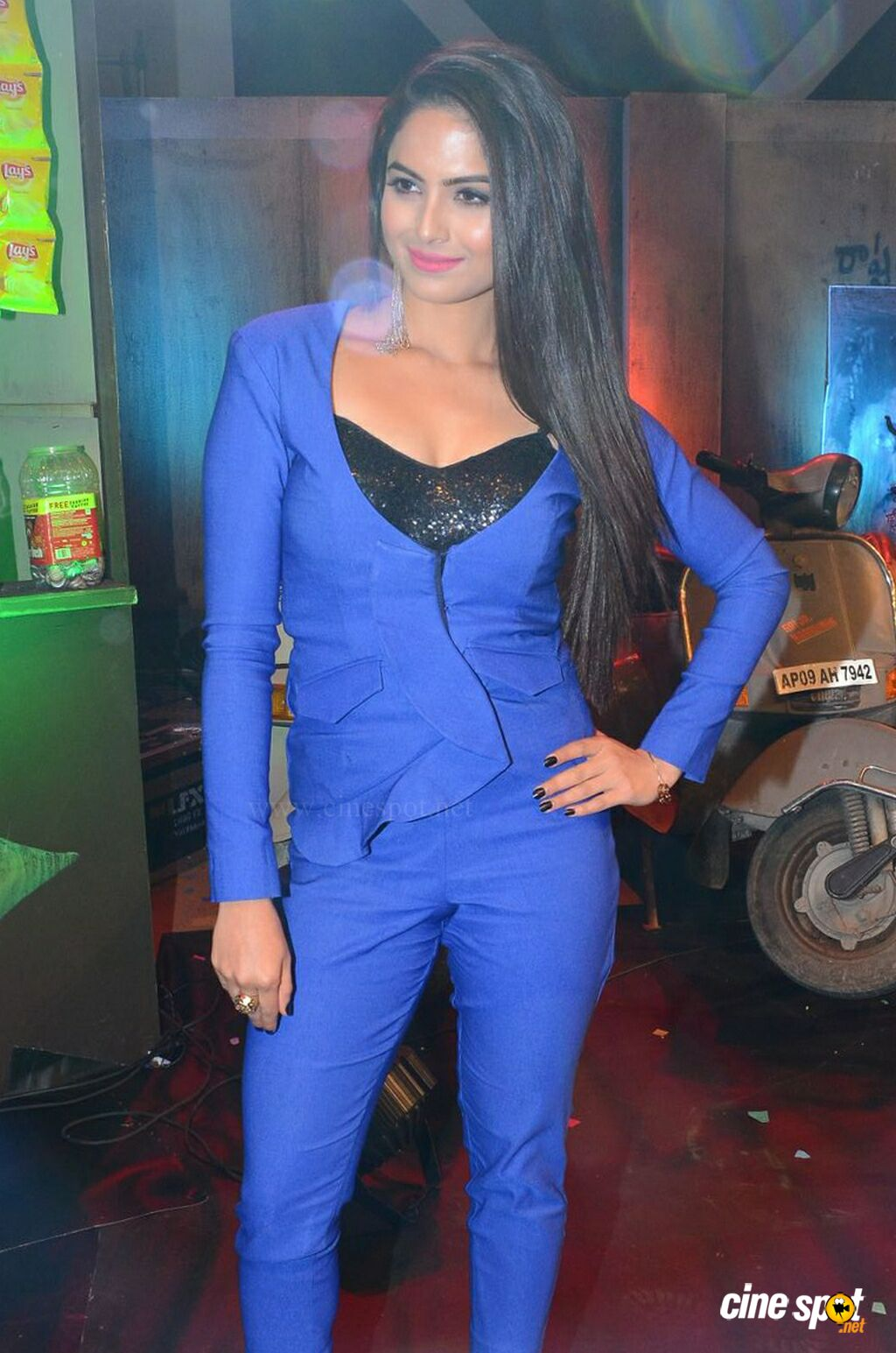 Naina Ganguly at RGV Shiva To Vangaveeti Event (1)