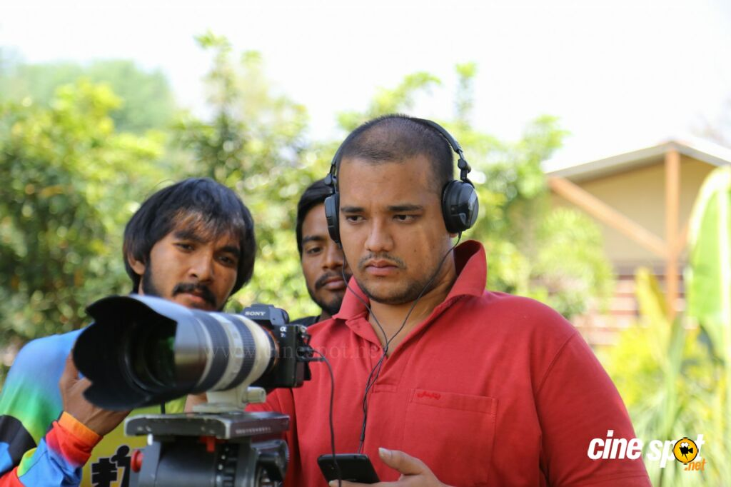 Dyavudaa Working Stills (5)