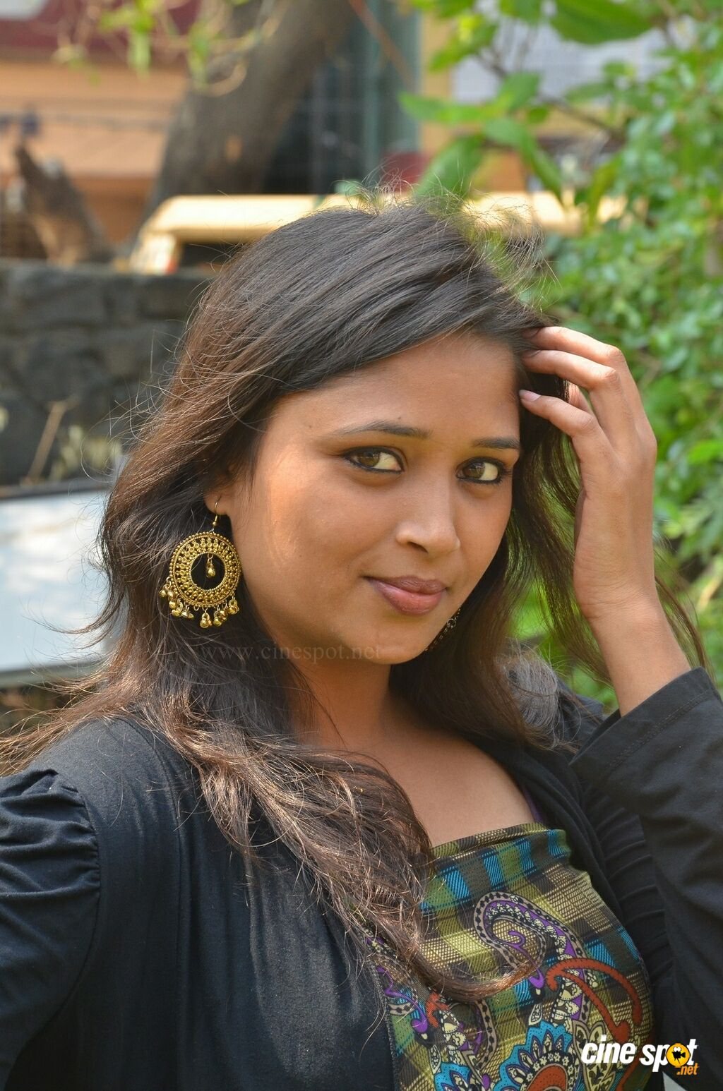 Jothisha Ammu at Eganapuram Movie Team Interview (7)