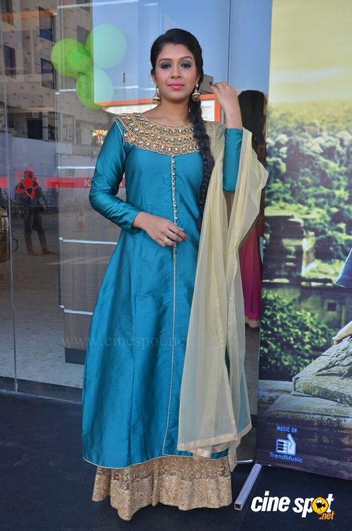 Shaini at Veeraiyan Audio Launch (12)