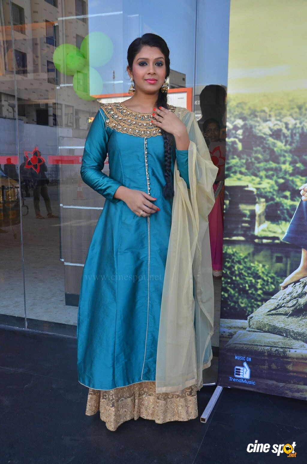 Shaini at Veeraiyan Audio Launch (4)