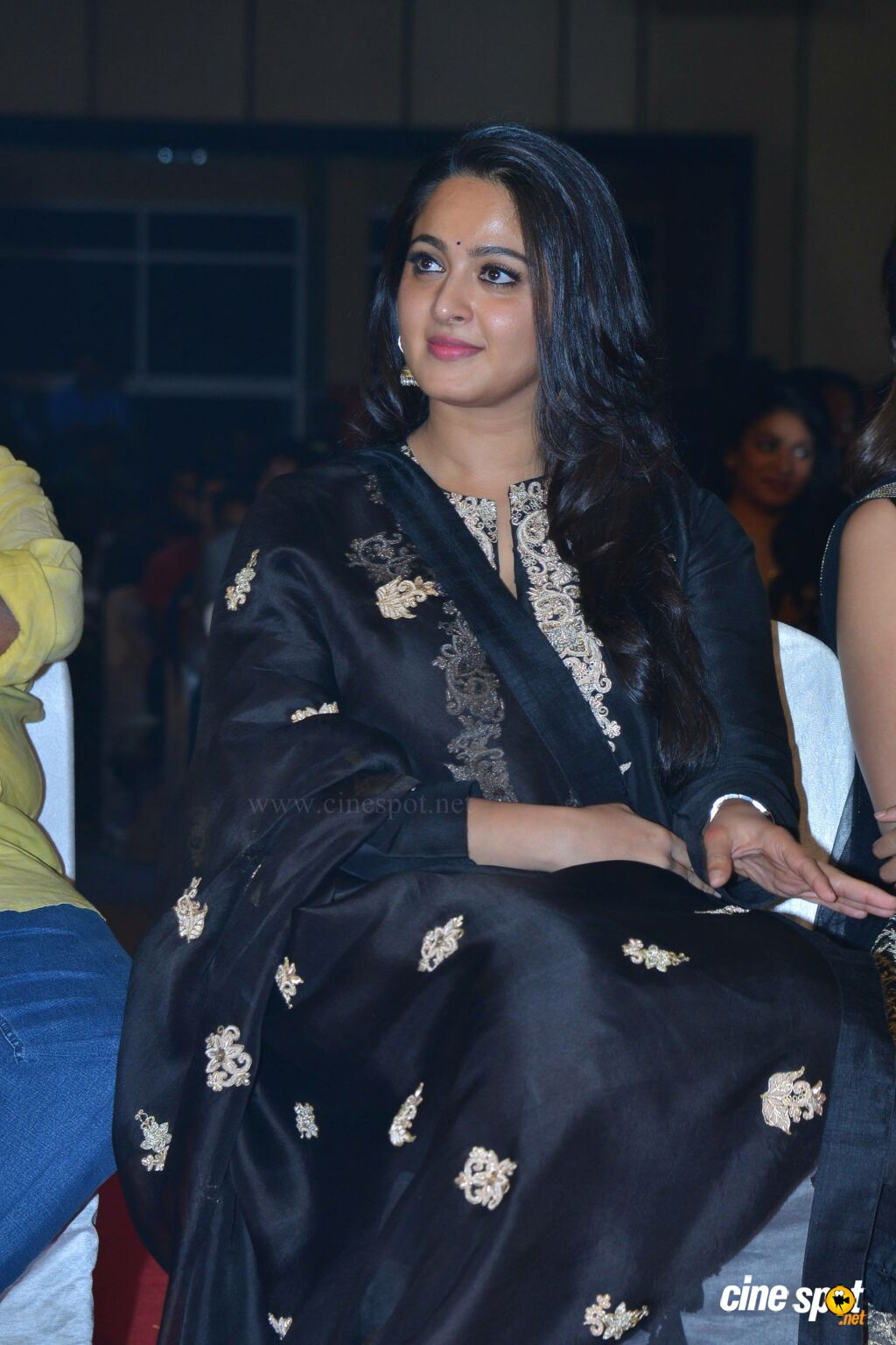 Anushka Shetty at Om Namo Venkatesaya Audio Launch (1)