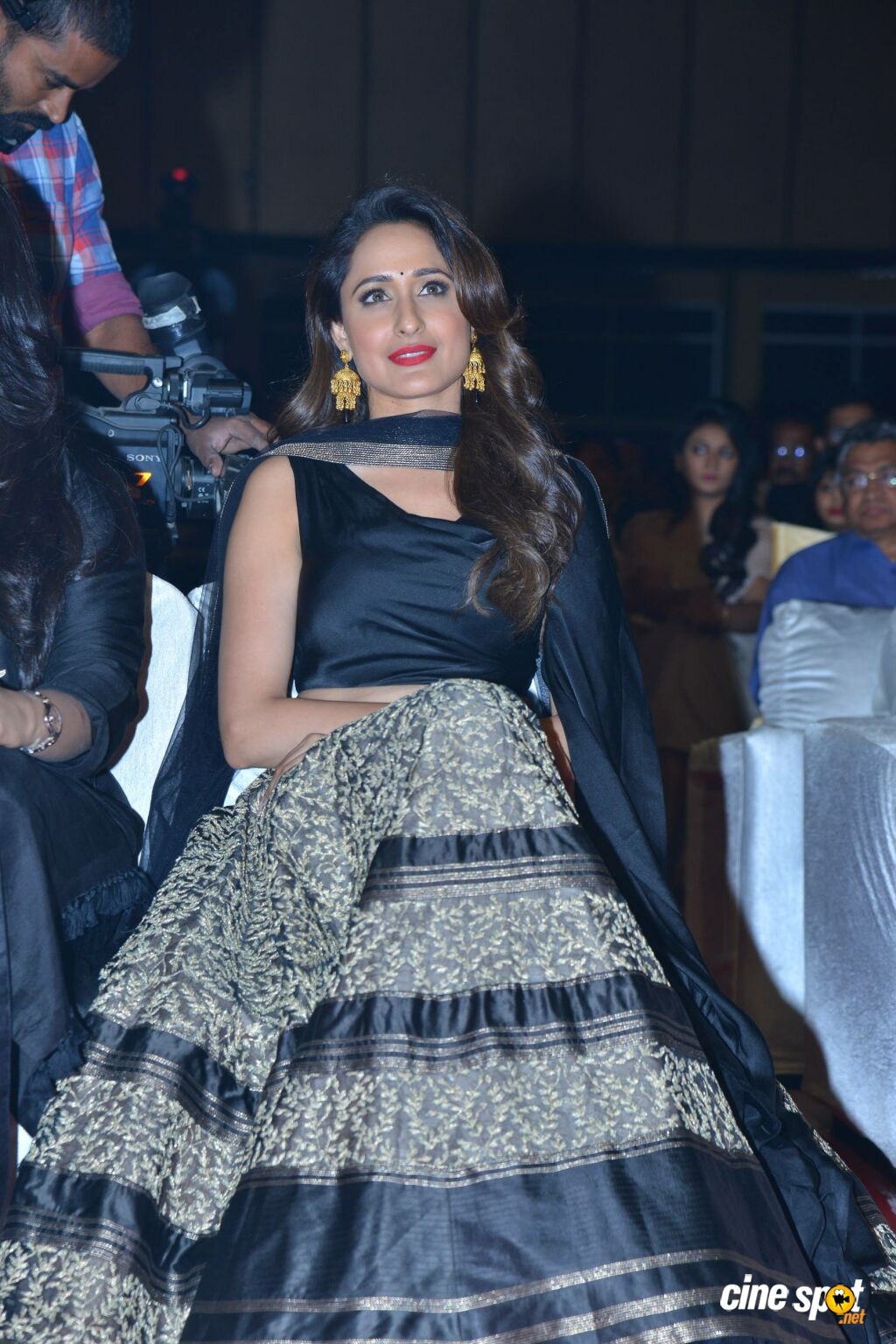 Pragya Jaiswal at Om Namo Venkatesaya Audio Launch (1)