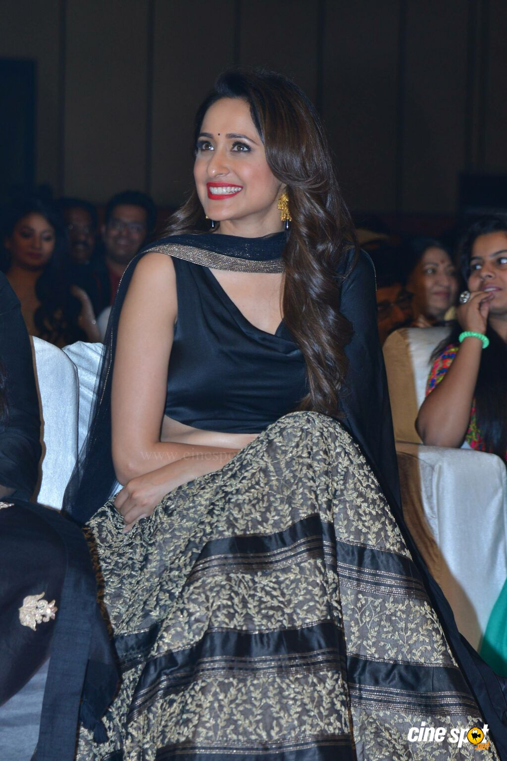 Pragya Jaiswal at Om Namo Venkatesaya Audio Launch (10)