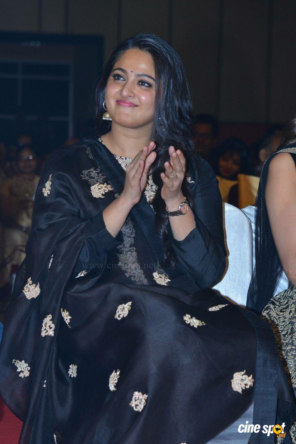 Anushka Shetty at Om Namo Venkatesaya Audio Launch (3)