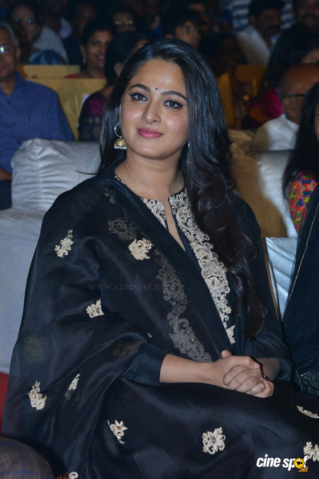 Anushka Shetty at Om Namo Venkatesaya Audio Launch (7)