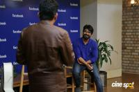 Ram Charan's Facebook Office Visit (13)