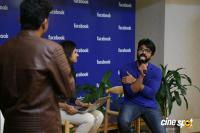 Ram Charan's Facebook Office Visit (14)