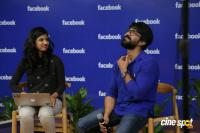 Ram Charan's Facebook Office Visit (17)