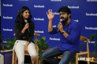 Ram Charan's Facebook Office Visit (9)